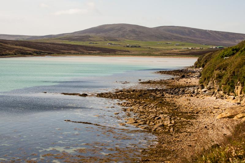 Goboony blog Orkney eilanden Wheems uitzicht camper schotland
