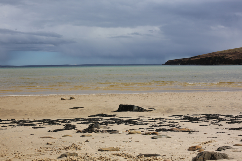 Goboony blog Orkney islands Wheems sand sea