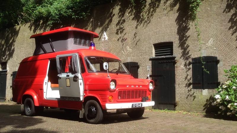 Goboony coole campers stoere papas brandweerwagen