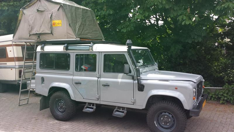 Goboony coole campers stoere papas landrover daktent