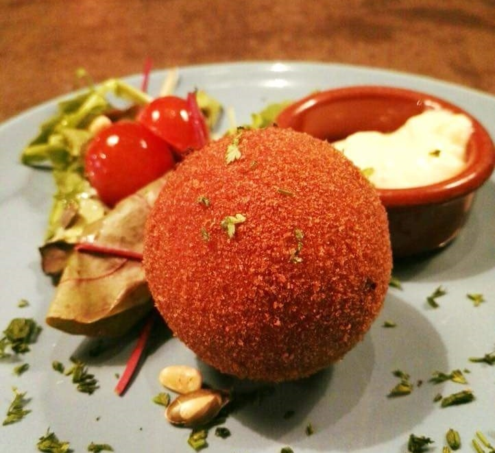 The local dish, the egg ball, is definitely something to be tried