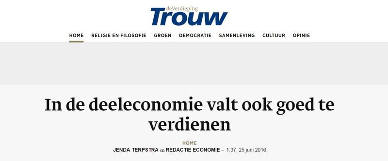 Goboony media juni2016 Trouw