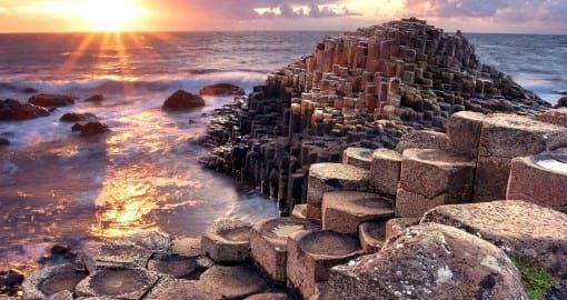 Goboony top vakantiebestemming stelletjes Giants Causeway Ierland