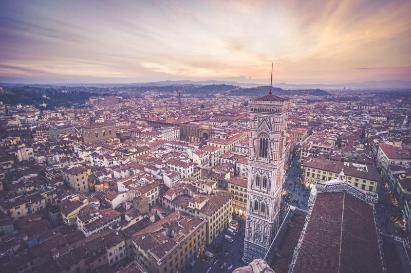 Goboony top vakantiebestemming stelletjes Florence Italië