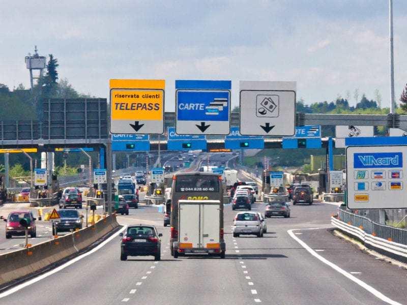 Goboony tolwegen Europa Italië Noorwegen