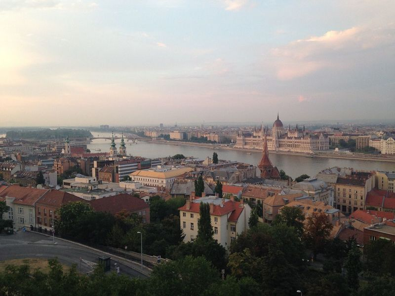 goboony motorhomes blog hungary by motorhome parliament building budapest