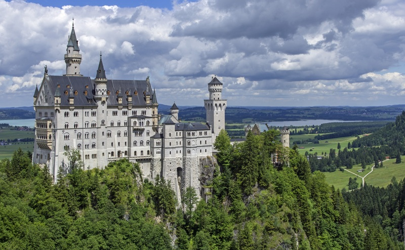 goboony motorhomes blog germany castle neuschwanstein