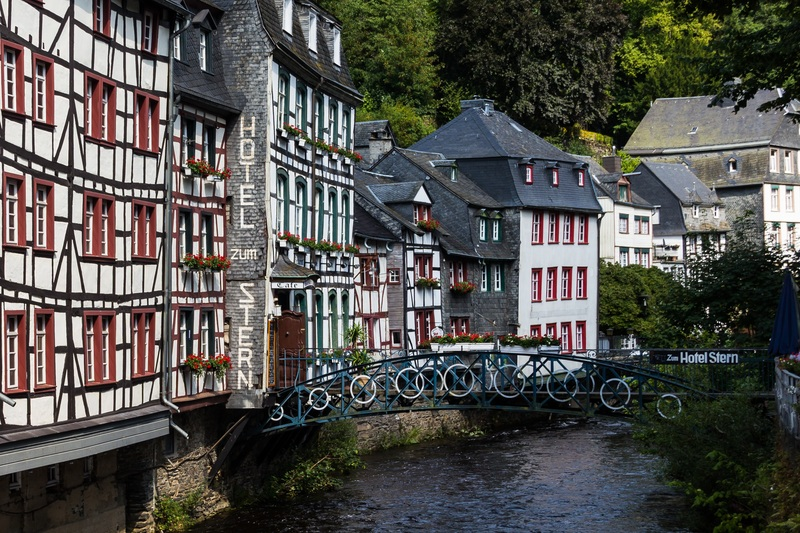 goboony motorhomes blog germany village monschau
