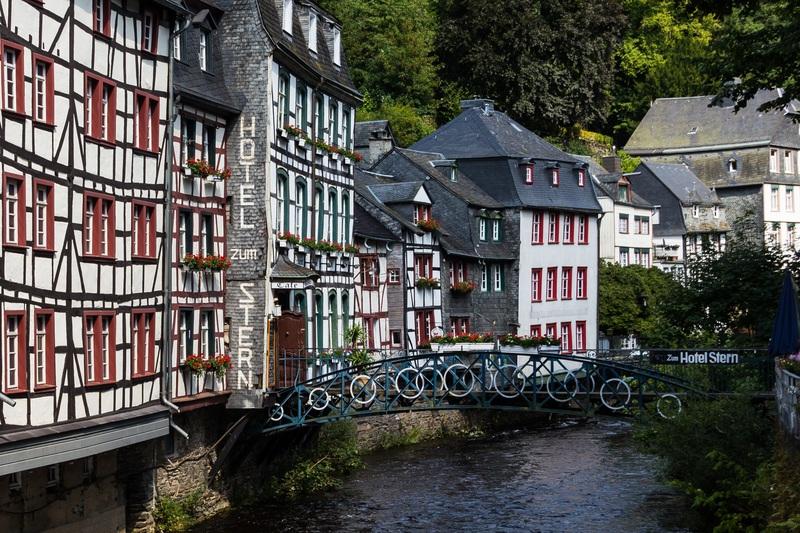 goboony motorhomes blog germany village monschau