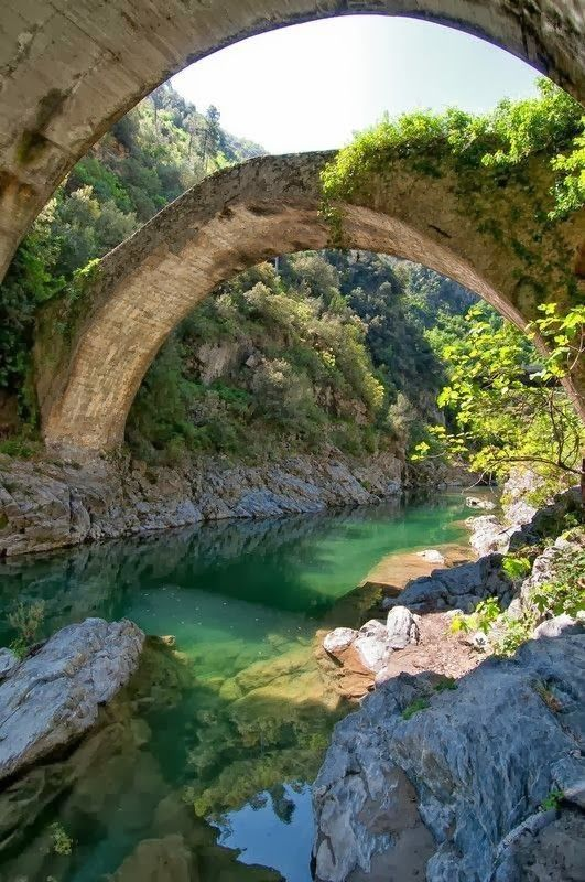 Goboony Italy Airole bridge river beautiful nature