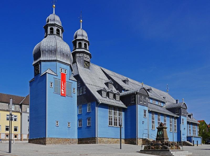 Met camper naar Harz dorpen steden Clausthal-Zellerfeld