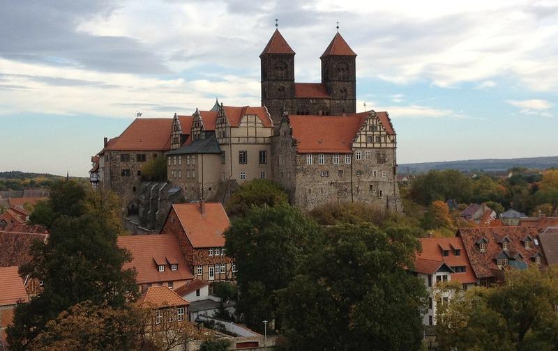 Met camper naar Harz dorpen steden Quedlinburg