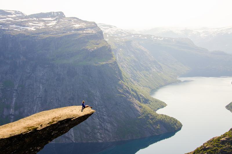 Goboony met camper Noorwegen mooie camperroute trollstunga