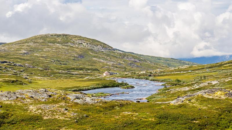 Goboony met camper Noorwegen mooie camperroute hardangervidda