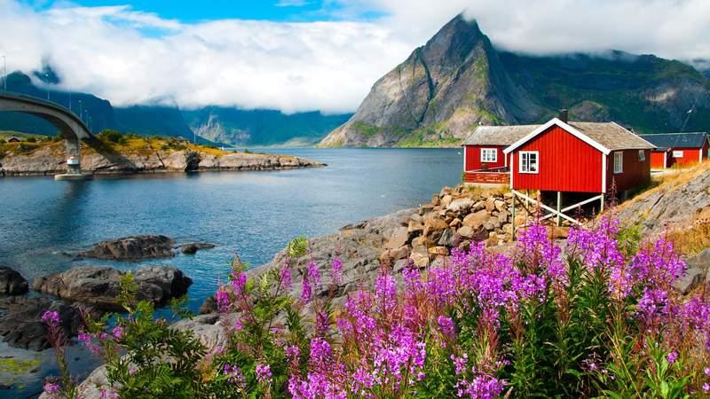 Goboony met camper Noorwegen mooie camperplaatsen alesund