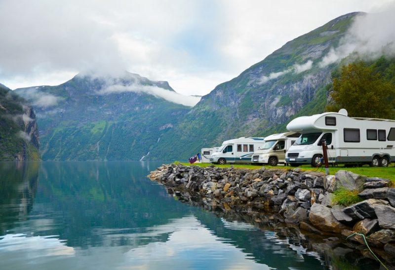 Goboony met camper Noorwegen camperroute uitgestippeld