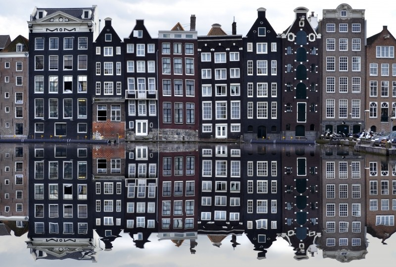 Goboony Amsterdam Canal houses iconic