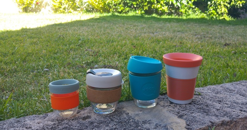 goboony reusable coffee cups waste reduction camping