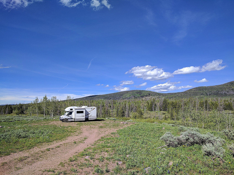 Goboony camping spring campsite quiet motorhome nature