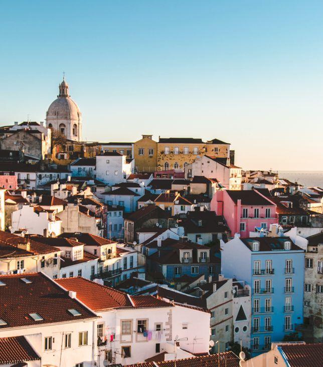 Goboony Visit Portugal Motorhome Lisbon Skyline