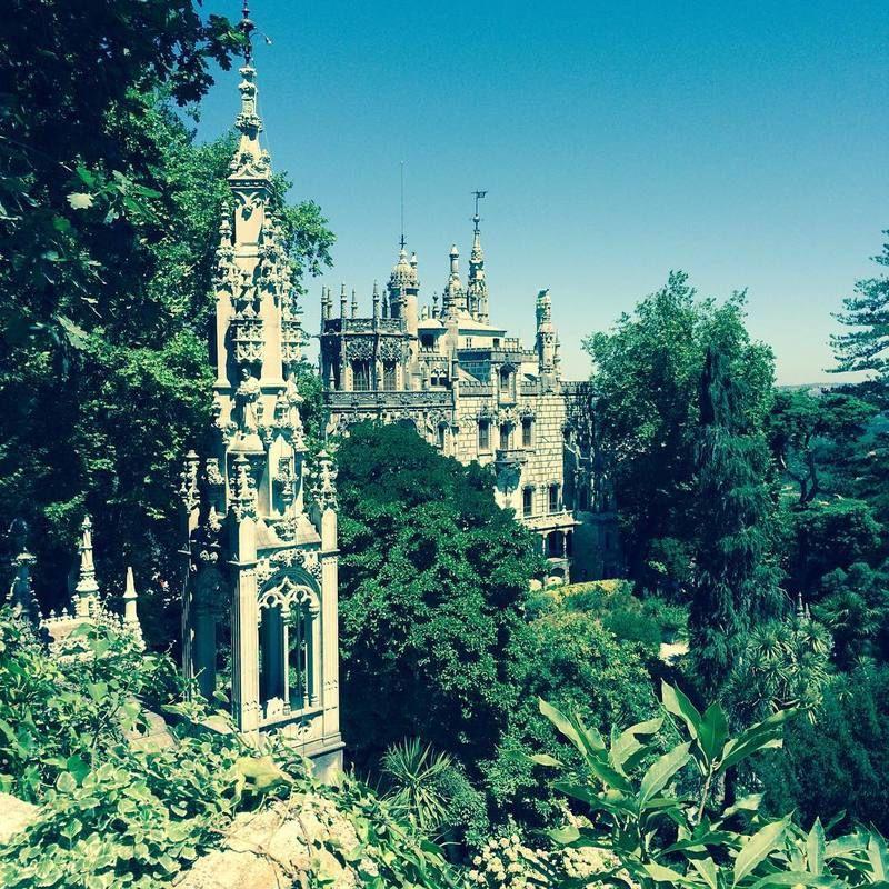 Goboony Portugal motorhome Sintra Quinta la Regaleira Palace Garden