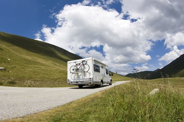 Goboony hire RV Ireland valley road motorhome