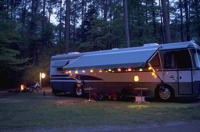 Goboony RV hire Ireland Evening motorhome