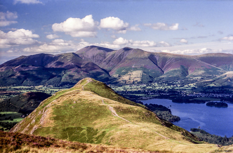 Goboony 7 Lake District Hiking Routes Catbells Lakeland Mountains Lake