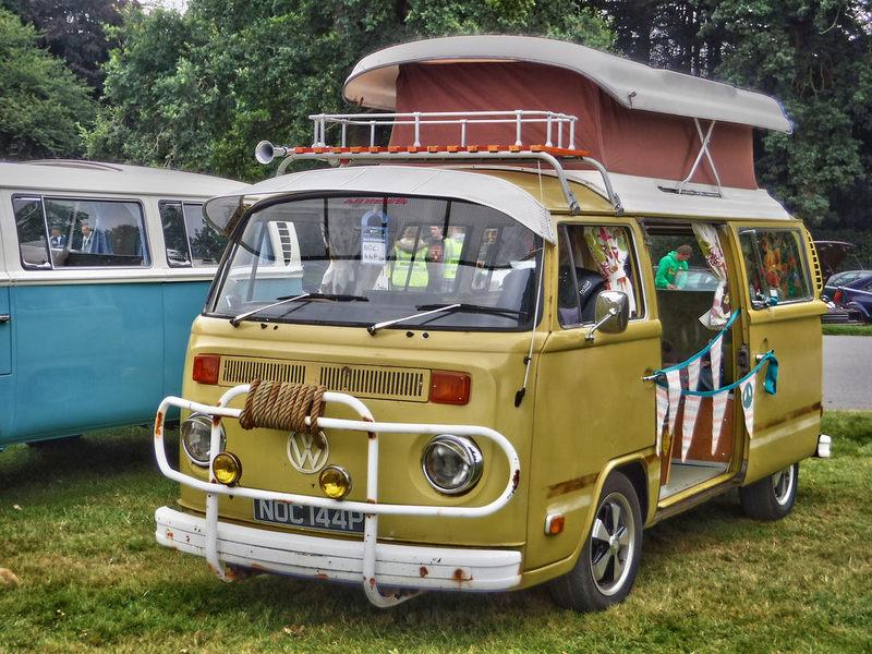 Goboony festival camper van hire poptop vw