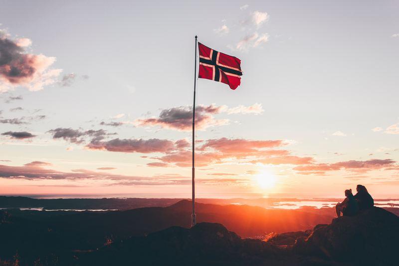 Goboony blog Noorwegen vlag