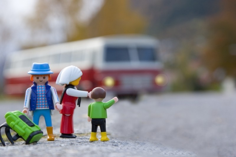 Goboony camping in norway playmobil plastic toys motorhome
