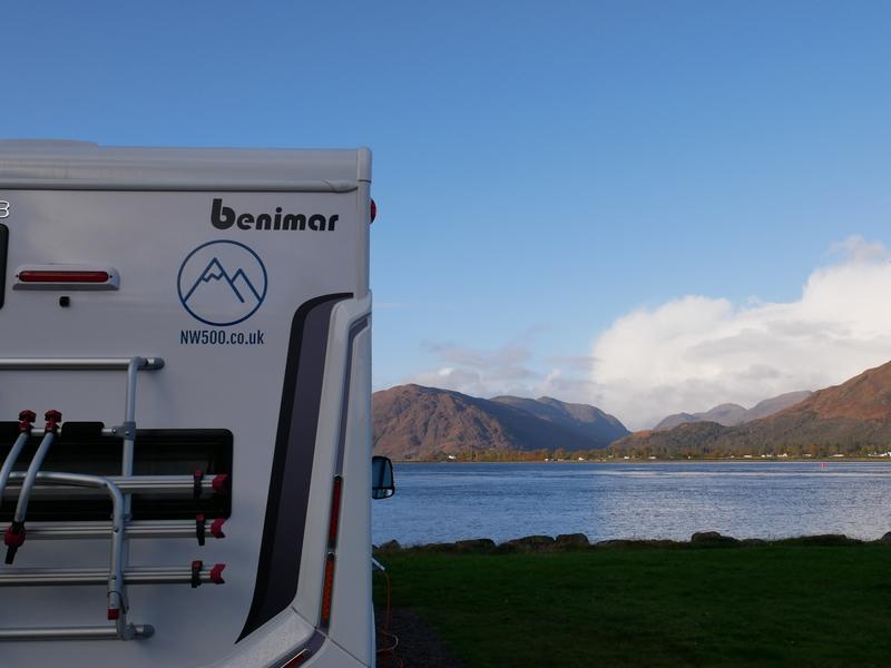 Goboony camperplaatsen Schotland