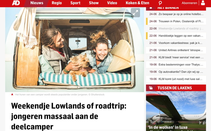Goboony in de media AD