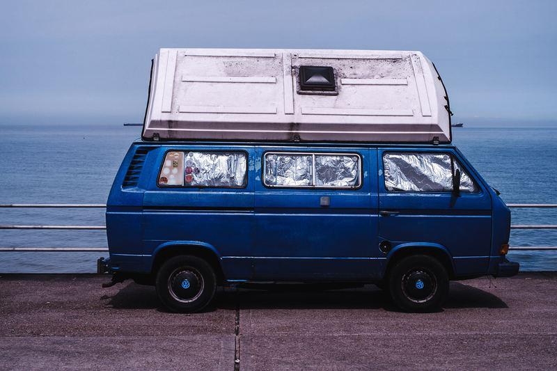 Goboony campervan H2 bluevan