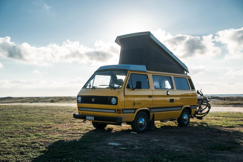 Goboony Campervan H2 Campervan yellow clouds
