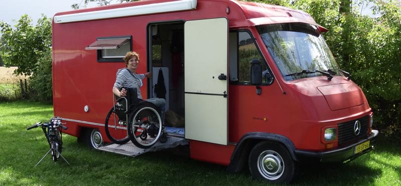Goboony aangepaste camper rolstoelvriendelijke camper