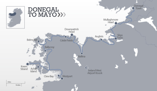 Donegal to Mayo