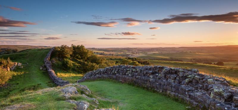 Goboony HadriansWall H2 Cumbria Wall Hadrian Historic