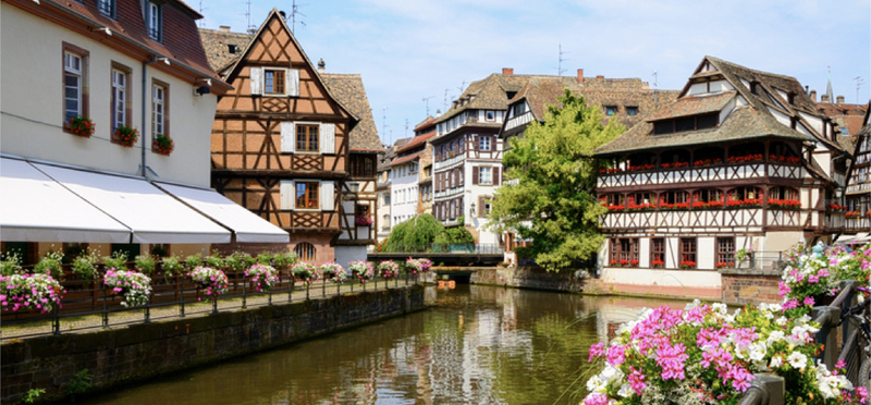 Goboony France H2 Strasbourg river houses