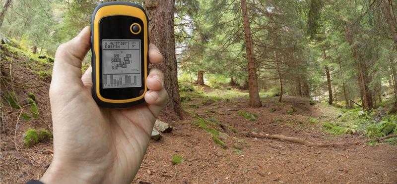 Goboony Geocaching H2 Geocache GPS Woods