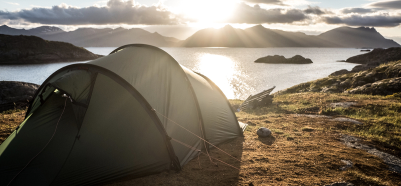 Goboony Wild Camping H2 Camping Norway Mountain Sea