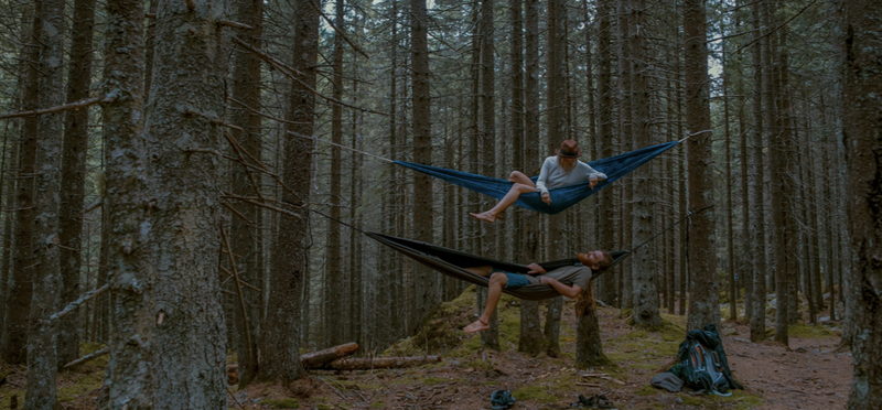 Goboony Wild Camping H2 Hammock Forest Woods Couple Love