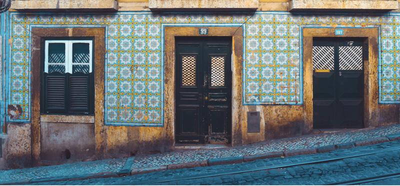 Goboony Lisbon H2 Portugal House Mosaic