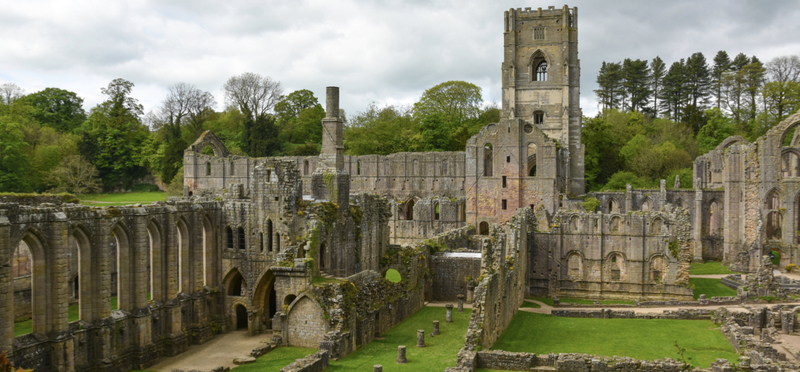 Goboony England H2 Fountains Abbey