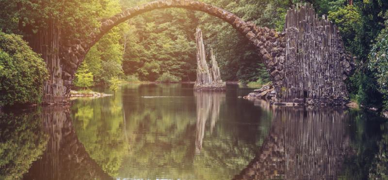 Goboony Germany H2 Rakotzbrücke Bridge Kromlauer Park