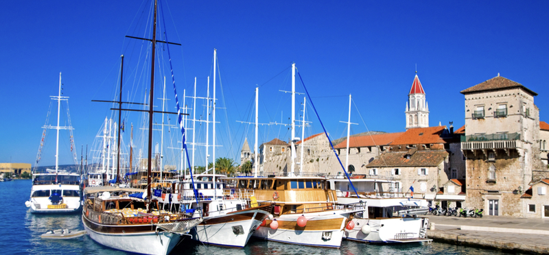 Goboony Croatia H2 Trogir Boat Harbour Island