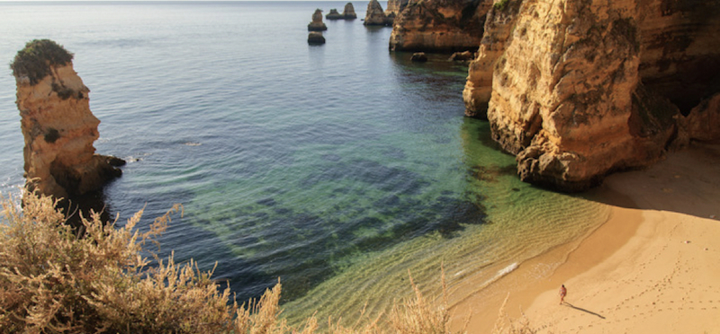 Goboony Beach H2 Sea Praia Dona Ana Algarve Portugal