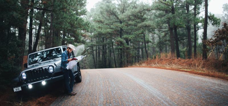 Goboony Road Trip Ideas H2 Man Forest Map Car