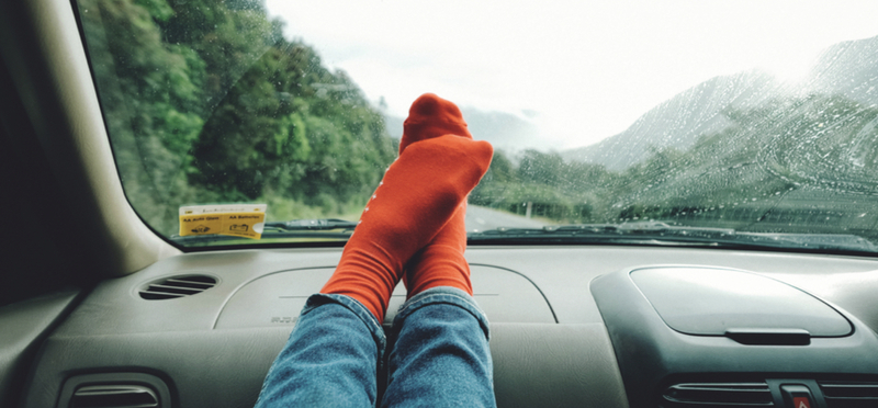 Goboony Road Trip Ideas H2 Socks Dashboard