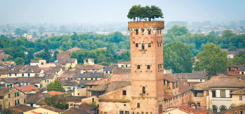 Top 10 Undiscovered Destination in Italy H2 Lucca Tuscany Beautiful Town Summer